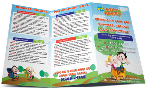 Nursery Marketing and Flyers